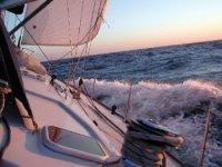 Adventure in boat