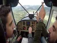 Istruzioni in volo