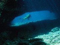 Diving at 30 meters