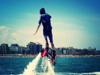Fly board nel mare