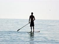 Nella tranquillita del mare