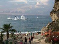Parechie Flyboards vicino la spiaggia in Reggio Calabria