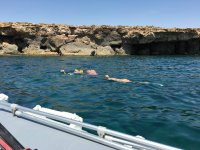 Snorkeling in compagnia