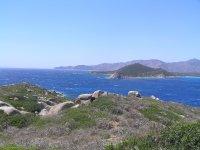 South side of Capo Carbonara