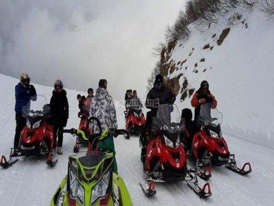 Mondomotors noleggio motoslitte Montecampione