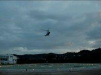 Elicottero in decollo