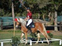 Scuola di equitazione nella Val Badia