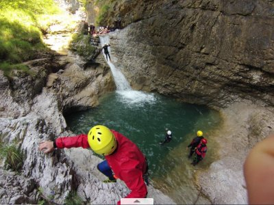 Canyoning Bellin