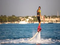 Flyboard sul mare