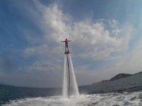 In volo sull'acqua