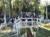 Squadra di giocatori Paintball Parma