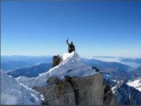 Climbing on the Alps