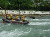 Rafting su gommone