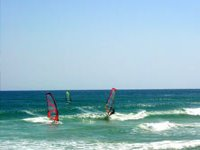 Windsurfing lessons in Chia