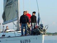 A bordo della barca