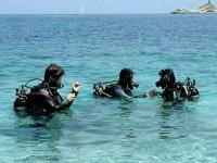 Pronti per l immersione
