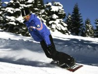 Snowboard in Val di Sole