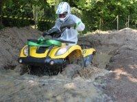 Corso di guida con quad