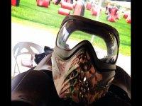 Maschera protettiva da mettere mentre si gioca