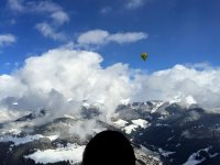 tra nuvole e montagna