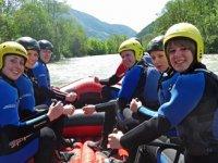 Gita rafting