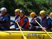 Rafting per persone andicappate