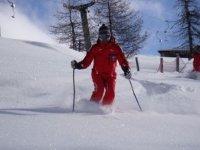 Qualified ski instructors