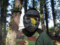 Maschera protettiva paintball