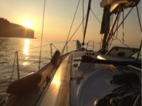 Weekend on a sailing boat