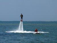 Flyboard e moto d'acqua