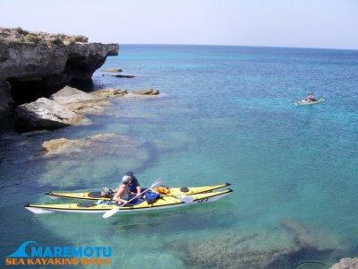 1 giornata in Kayak da mare Sicilia Orientale