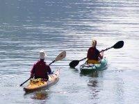 Gite in canoa sul lago