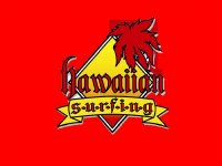 Hawaiian Surfing Paddle Surf