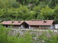 Ranch dei Lupi farm structure