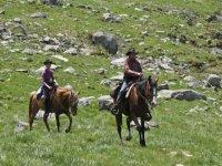 horseback riding lagorai chain