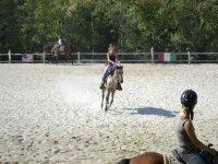 esercizi a cavallo