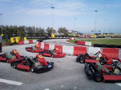 Paintball Marche Kart