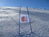Pista per lo slalom