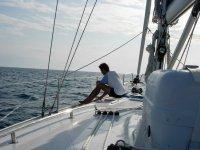 Momento di relax in barca