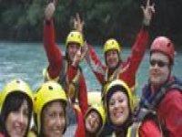 Tanto divertimento con il rafting