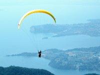 Volando sul lago di Garda