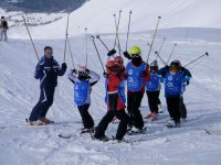 Skiing for adults and children