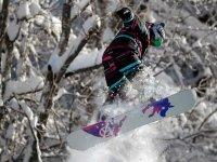 Snowboard in Bardonecchia