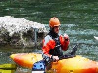 Discese in canoa fiume Adige