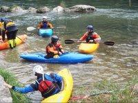 Kayak fluviale