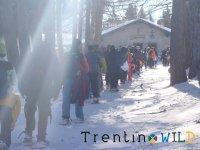 Snowshoeing team building