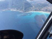 volando sul mare