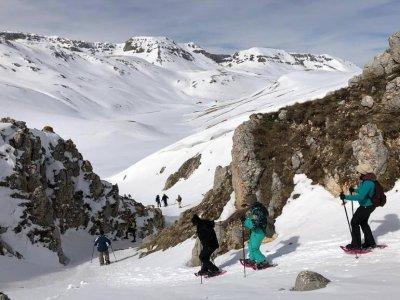 Abruzzo adventures ciaspole