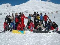 Snowboard in compagnia