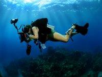 Servizio fotografico sott'acqua!